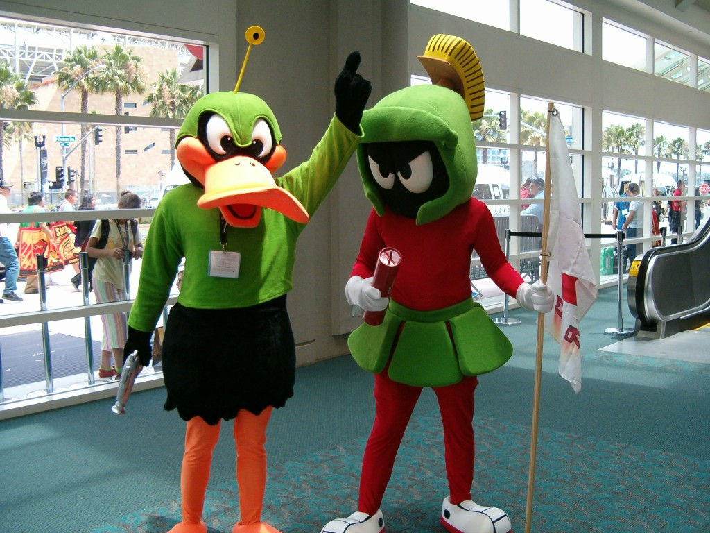 Duck Dodgers and Commander X-2