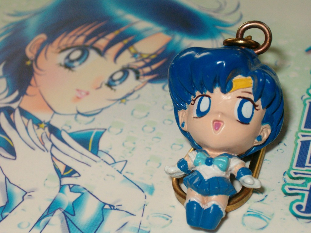 Sailormercury Key Chain
