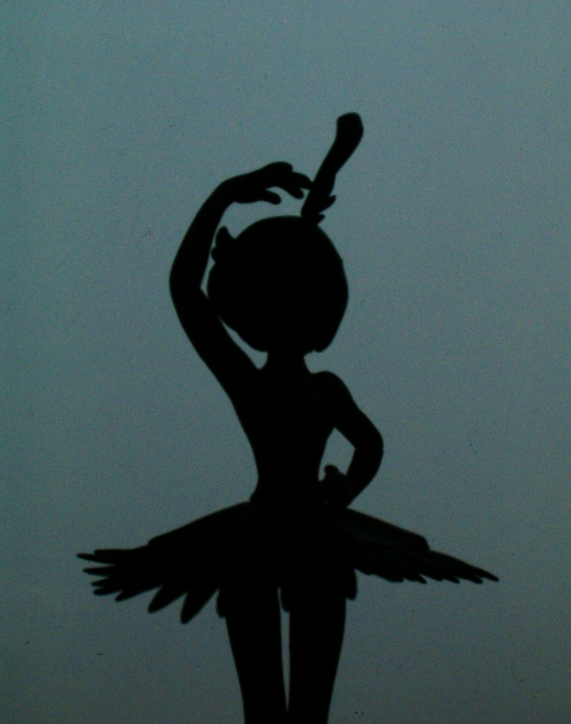 Silhouette of Rue