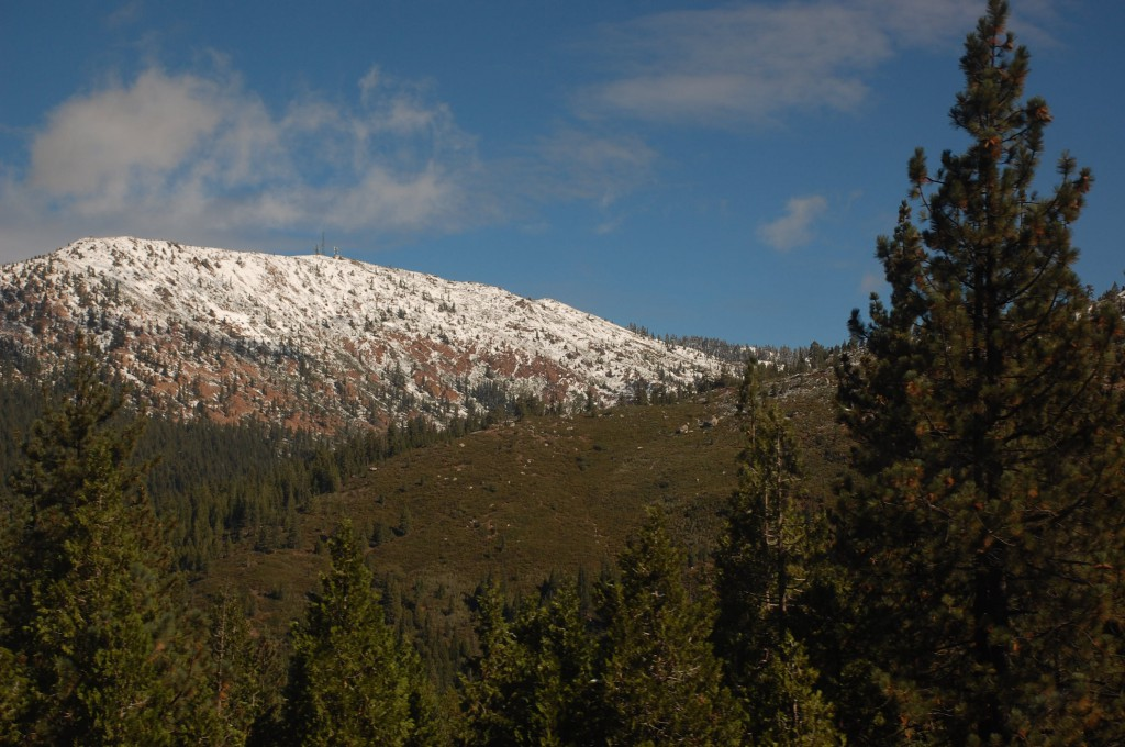 Snow-Topped Mountain
