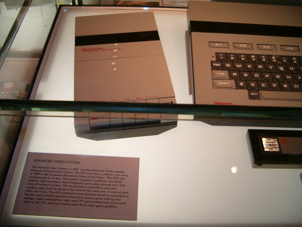 Nintendo Advanced Video System (Left)