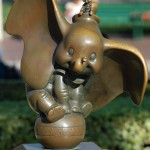 Dumbo and Timothy Statue